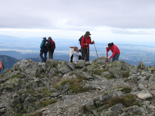 Na Szczycie Starorobociańskiego W. #Góry #Tatry #StarorobociańskiWierch