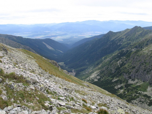 Raczkowa Dolina #Góry #Tatry #StarorobociańskiWierch