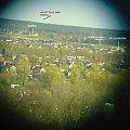 panorama Tomaszowa: kierunek południowy wschód SE #TomaszówMAzowiecki #PuszczaPilicka #Ludwików #Wąwał #OsiedlePiękna #miasto