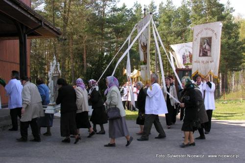 Foto Sylwester Nicewicz - Odpust w Kuziach #Kapliczka #Kościół #odpust #Kuziach #Kuzie #Wojciech #Wojciecha #gmina #Zbójna #woj #podlaskie