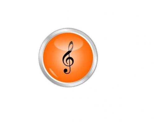 Grafika zrobiona w programie Inkscape #przycisk #button #inkscape #GrafikaWektorowa #wektor #muzyka