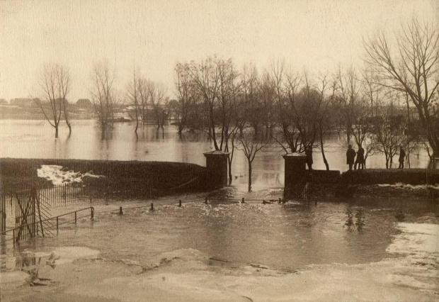 Powódz Poznań 1888 rok 1888 - Legi Debinskie - 01