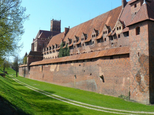 Zamek w Malborku #Malbork #zamek
