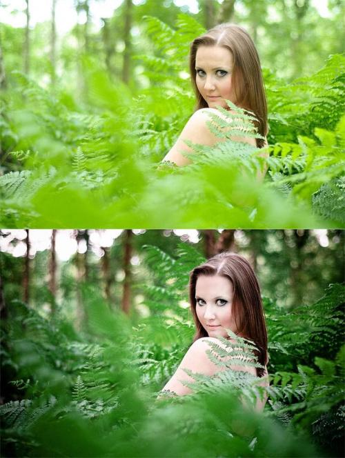 Takie małe before-after, ćwiczenia z obróbki #photoshop #retusz #nikon #passiv