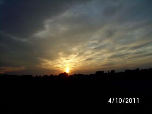 zachód słońca październik 2011 #ZachódSłońcaSłońce