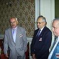 W kuluarach od lewej ; Z.Szura, W Kawalec, J Górski. #Militaria #Konferencja #Osoby