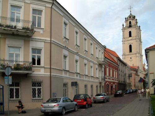 Ulicą Świętojańską w Wilnie. /Św. Jana -Sv.Jono/ #Wilno