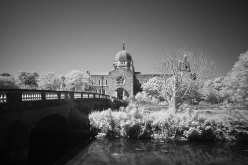 Galway Cathedral #Galway #Irlandia #Cathedral #Infrared