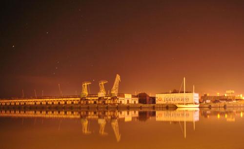 Łasztownia #NocneZdjęcia #Odra #Szczecin #SzczecinNocą #WałyChrobrego #WschódSłońca