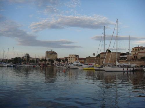 Port w Alghero...