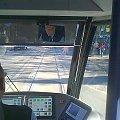 kabina prowadzącego #Bombardier #NGT8 #MPKKraków #tramwaj