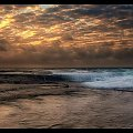 plaza Mona #chmury #ocean #poranek #przyroda #woda #WschódSłońca