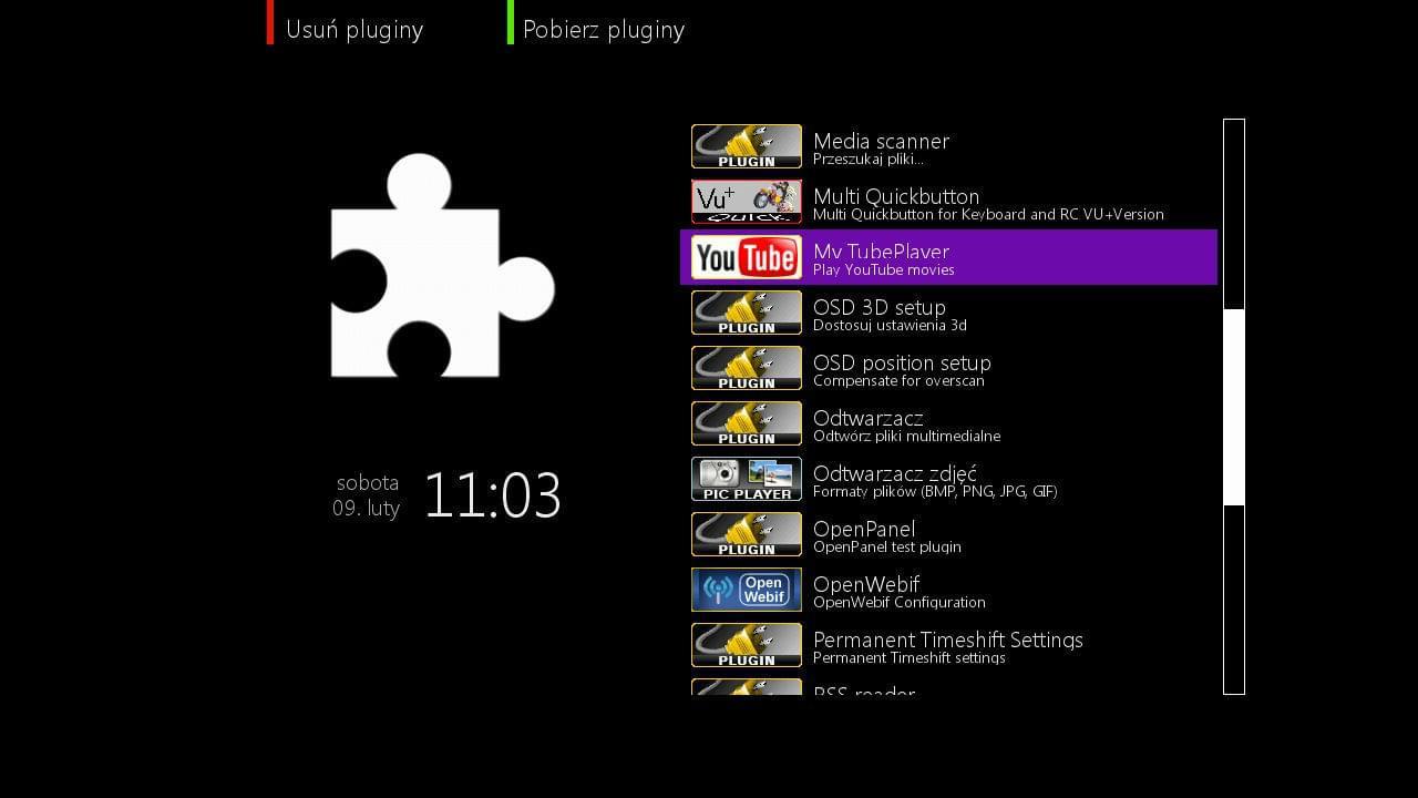 Openpli plugin Download