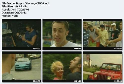 Boys - Teledyski (1992-2007)