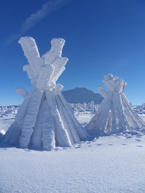U Indian też zima ? :)) #góry #śnieżka #wiosna #zima