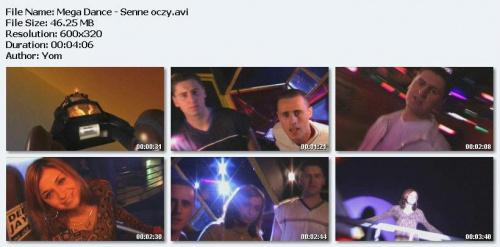 Mega Dance - Senne Oczy (2002)