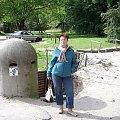 Świnoujście-Agata przed wejściem do Fortu Gerharda. #wakacje #urlop #podróże #zwiedzanie #militaria #fortyfikacje #bunkry #Polska #Świnoujście