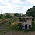 stadion w tle #gdańsk #pkp #tory #ruina