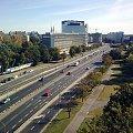 Trasa Łazienkowska #widok #Warszawa #ulice