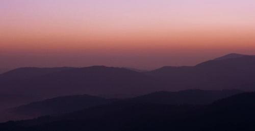 #góry #panorama #WschódSłońca