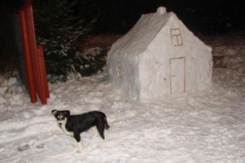 ... Na pamiątkę, że zima była śnieżna...