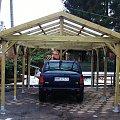 Wiaty garażowe drewniane www.marczak.pl #WiataGarażowa #WiatyGarażowe #wiata #wiaty #garaż #drewniane #mazowieckie #warszawa #producent #zpd