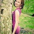 """""""Za jeden uśmiech Twój""""... Klaudia c.d. #kobieta #dziewczyna #las #bunkier #airking #passiv #nikon"""