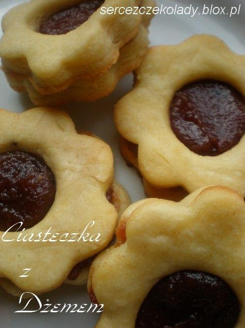 Ciasteczka z dżemem