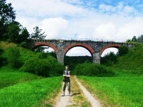 Wiadukt kolejowy w Glaznotach #wiadukt #kolejowy #glaznoty #festeriusz