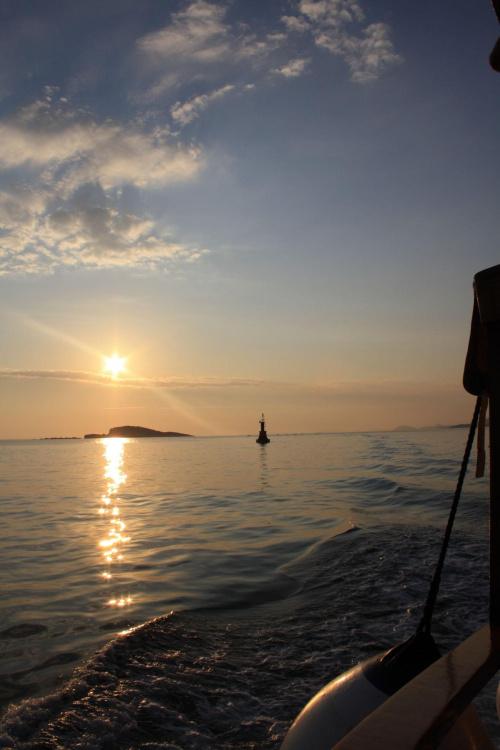 Croatia #słońce #morze #zachód