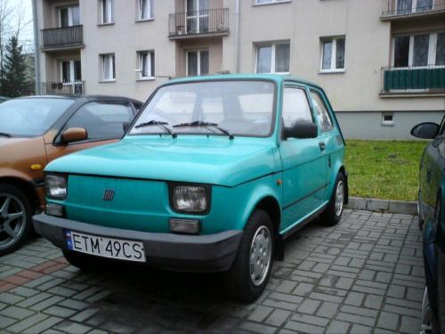 Maluszek sprzedany... Zostały tylko zdjęcia ;-) #Fiat126p