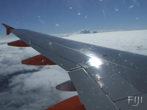 Widok z samolotu #Maszyny #Widoki