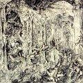 rysunek piórkiem format 100/70 cm więcej - www.galery2003.republika.pl #malarstwo #rysunek #grafika #kopie #obrazów #AniołyArchanioły #bitwa #spotkanie #artysta #sztuka #malarz #ReplikiObrazów #plastyk #malowanie #MalarstwoNaZamówienie