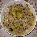Ziemniaki z tuńczykiem- sałatka leniwca Przepisy do zdjęć zawartych w albumie można odszukać na forum GarKulinar . Tu jest link http://garkulinar.jun.pl/index.php Zapraszam. #ziemniaki #tuńczyk #SałatkiPrzekąski #śniadanie #kolacje #obiad