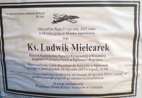 ks. Ludwik Mielcarek 1927-2011