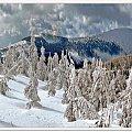 zima w Karkonoszach #góry #zima #KrajobrazyIPrzyroda #panorama #miejsca