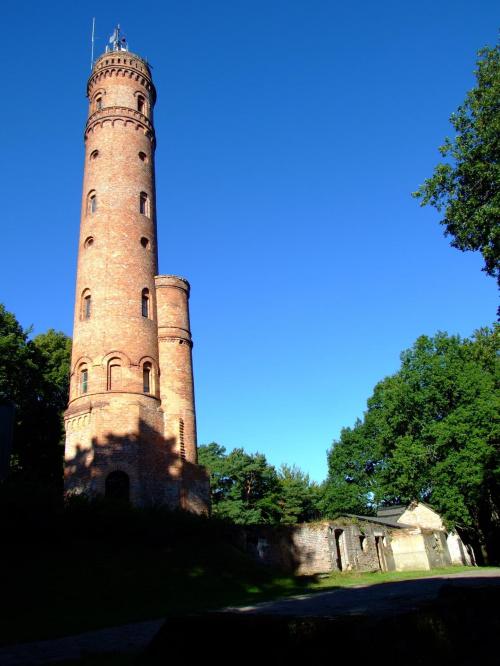 """""""Latarnia Morska"""" jako wieża widokowa w Koszalinie na Górze Chełmskiej"""