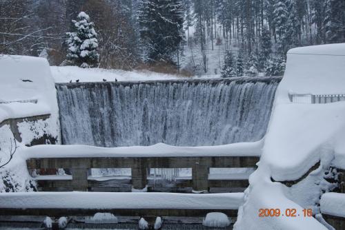 Wodospad Wisła Czarne #Zima #Wodospad