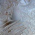 lodowe malunki #wzorki #lód #szyba #mróz