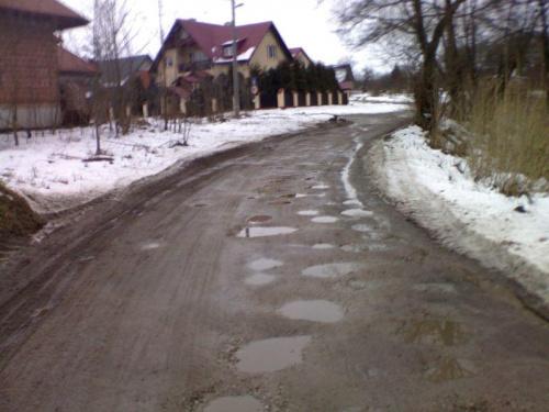 #Żyrzyn #droga #dziury