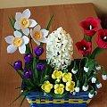 Wiosenne kwiaty #bibuła #dekoracje #hobby #KompozycjeKwiatowe #krepina #KwiatyZBibuły #MojePrace #pomysły #RobótkiRęczne