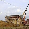 Wiadukt w Kochcicach 28 03 2009 #obwodnica #Lublińca